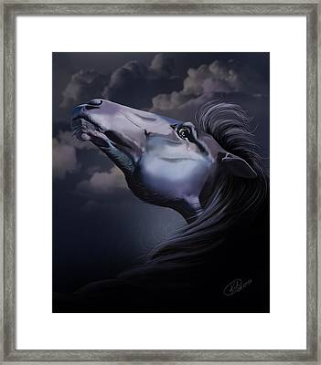 Pain Inside Me Framed Print