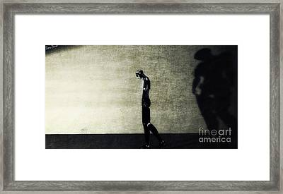 Pain Of Parting Framed Print by Sina Souza