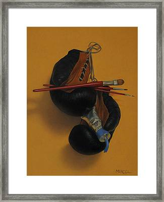 Pain-ting Framed Print by Marcel Franquelin