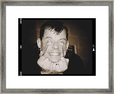 Framed Print featuring the photograph Painful by Alice Gipson