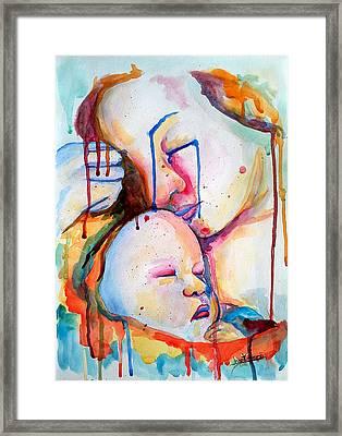 Painful Joy Framed Print