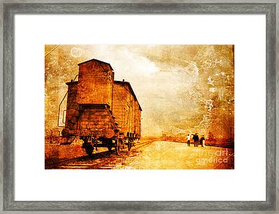 Painful Memories Framed Print by Randi Grace Nilsberg