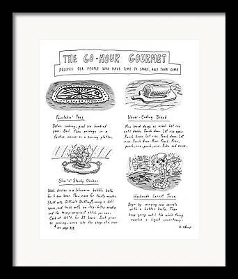 Consume Hours Framed Prints