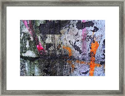 Paint And Rust 31 Framed Print by Jim Wright
