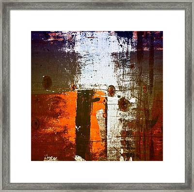 Paint Bi Color 1 Framed Print