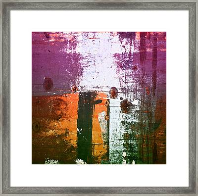 Paint Bi Color 2 Framed Print