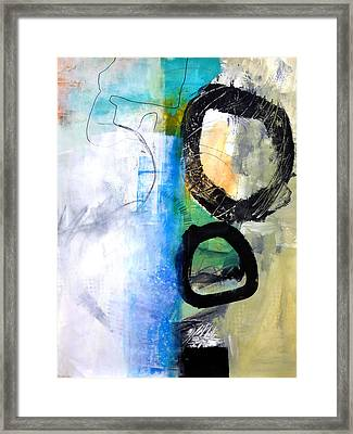 paint Improv 10 Framed Print by Jane Davies