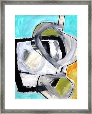 Paint Improv 12 Framed Print by Jane Davies