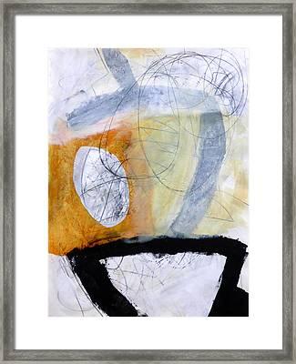 Paint Improv 3 Framed Print by Jane Davies