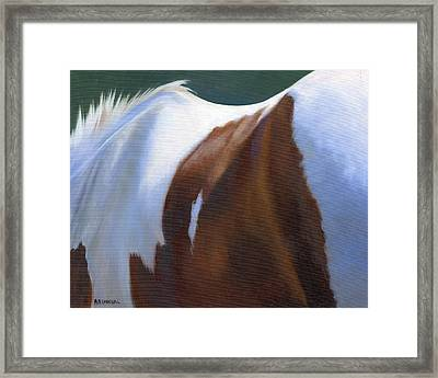 Paint Landscape Framed Print by Alecia Underhill