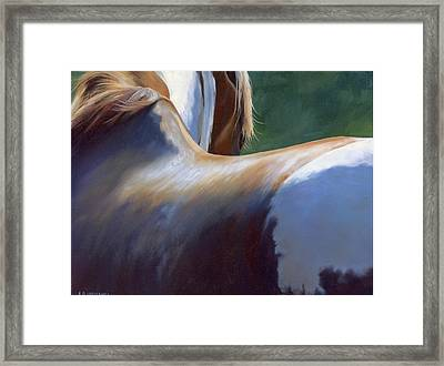 Paint Landscape II Framed Print by Alecia Underhill