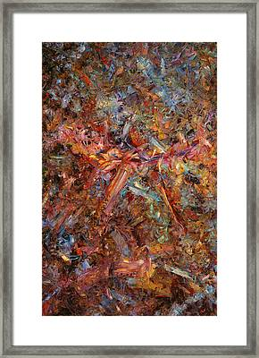 Paint Number 43 Framed Print by James W Johnson