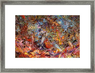 Paint Number 43a Framed Print by James W Johnson