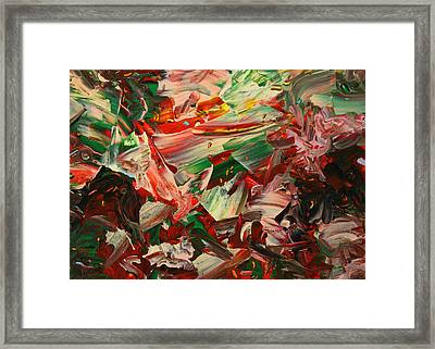 Paint Number 48 Framed Print by James W Johnson