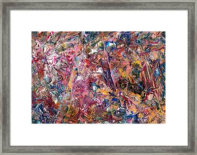 Paint Number 49 Framed Print by James W Johnson
