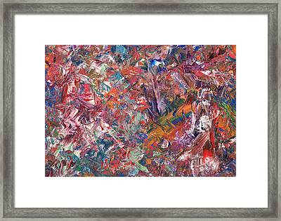 Paint Number 50 Framed Print by James W Johnson