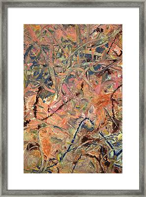 Paint Number 52 Framed Print by James W Johnson