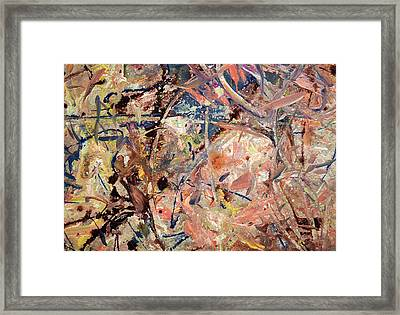 Paint Number 53 Framed Print by James W Johnson