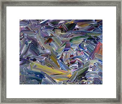 Paint Number 57 Framed Print by James W Johnson