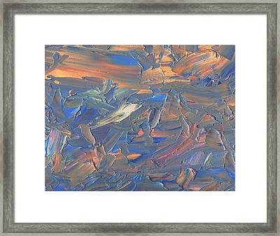 Paint Number 58c Framed Print by James W Johnson