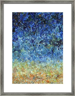 Paint Number 59 Framed Print by James W Johnson