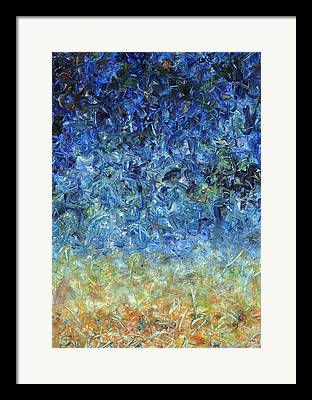 Abstract Sky Drawings Framed Prints