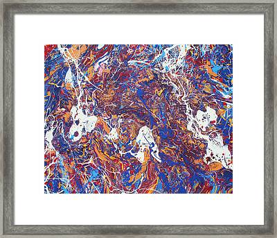 Paint Number Five Framed Print by Ric Bascobert
