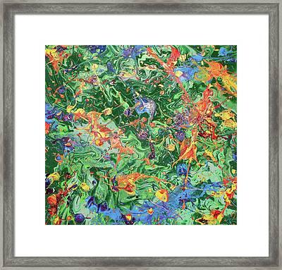 Paint Number Twenty Three Framed Print