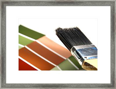 Paint Project Framed Print