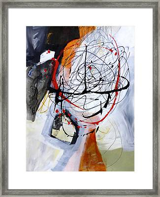 Paint Solo 6 Framed Print by Jane Davies