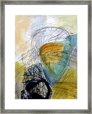 Paint Solo 7 Framed Print by Jane Davies