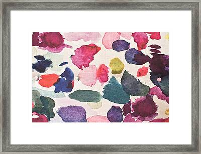 Paint Stains Framed Print by Tom Gowanlock