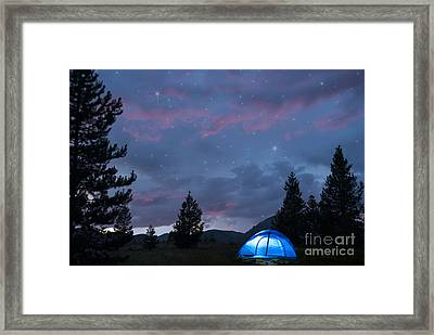 Paint The Sky With Stars Framed Print by Juli Scalzi