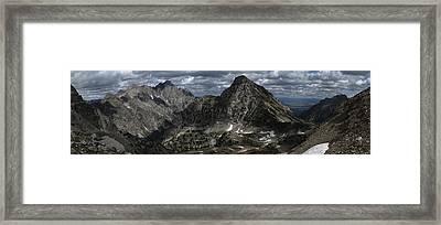 Paintbrush Divide Framed Print by Raymond Salani III