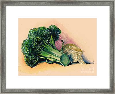 Painted And Cooked Framed Print by Alessandra Andrisani