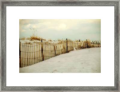 Painted Beach Framed Print