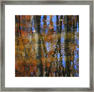 Painted By God Part Two Framed Print