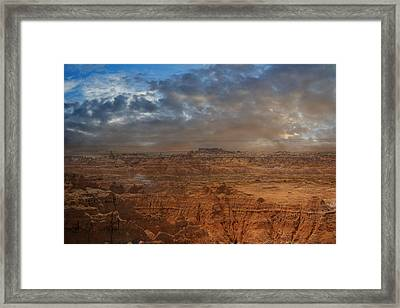 Painted By Nature Framed Print by Judy Hall-Folde