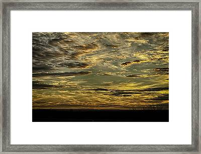 Painted By The Hand Of God Framed Print
