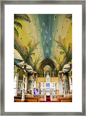 Painted Church Framed Print