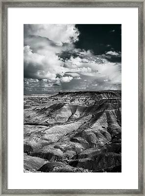 Painted Desert From Lacey Point Framed Print