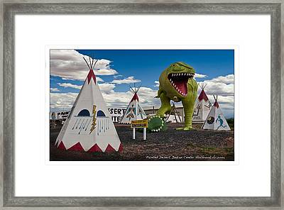 Painted Desert Indian Center  Framed Print