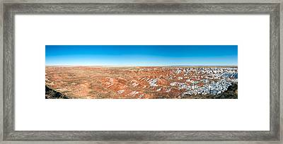 Painted Desert, Petrified Forest Framed Print