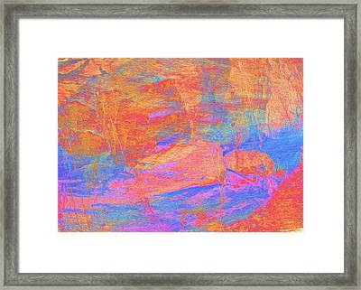 Painted Desert Framed Print by Stephanie Grant