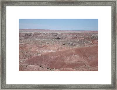 Painted Desert Framed Print by Susan Woodward