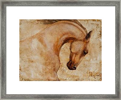 Painted Determination 1 Framed Print