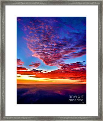 Painted Heavens Framed Print