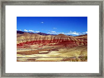 Painted Hills Framed Print by Chalet Roome-Rigdon