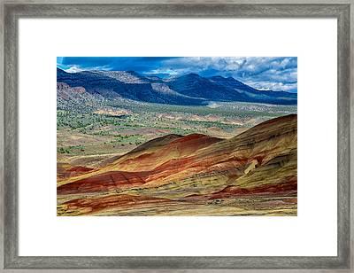 Painted Hills I Framed Print