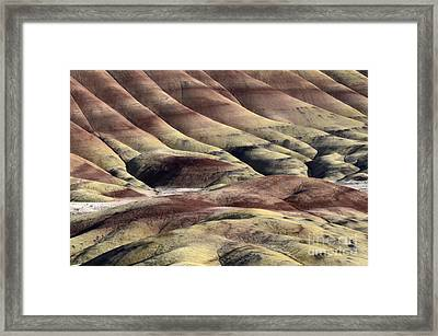 Painted Hills Oregon 11 Framed Print by Bob Christopher